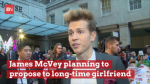 Shhh: James McVey Is Planning To Pop The Question