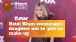 Heidi Klum Doesn't Want Her Daughter Wearing Too Much Makeup