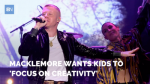 Macklemore Wants Kids To Focus On Creativity