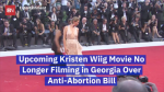 Kristen Wiig Protests Against Georgia's Anti-Abortion Bill