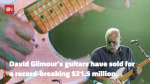 David Gilmour's Guitar Collection Is Incredible