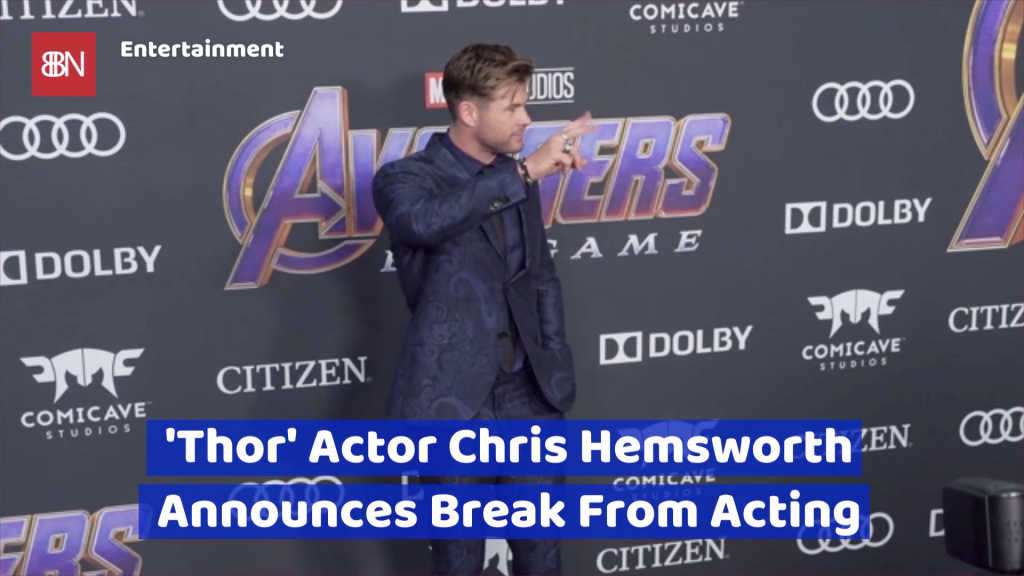 Chris Hemsworth Needs A Long Vacation – Celebrity Wire